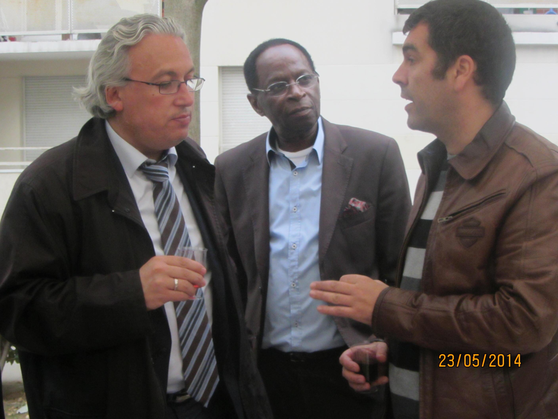 Le Maire TONY DI MARTINO en conversation